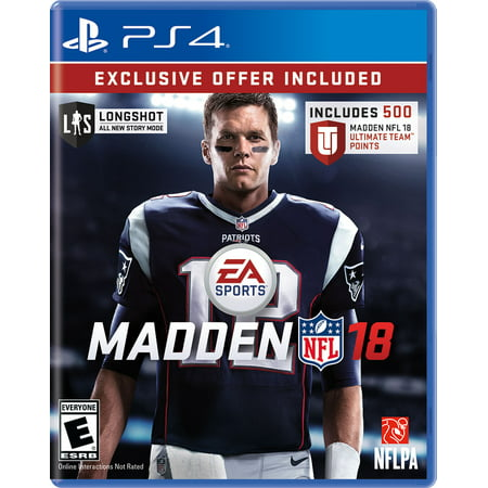 Madden Nfl 18 Limited Edition  Electronic Arts  Playstation 4  014633738889