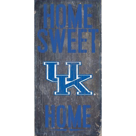 Kentucky Wildcats 6'' x 12'' Home Sweet Home Sign - No Size