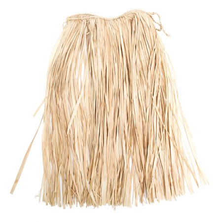 Kids Natural Raffia Grass Skirt (Tan Raffia)