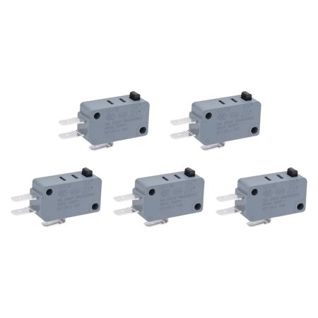 5Pcs G5T16-E1Z200 NO+NC SPDT 3 Pole Push Button Action Momentary Micro Switch - image 1 of 1