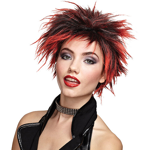Punker Chic Adult Halloween Wig