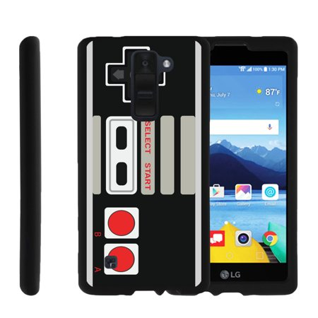 Lg K8v  K8 V  Vs500   Snap Shell  Matte Black  2 Piece Snap On Rubberized Hard Plastic Cell Phone Cover With Cool Designs   Game Controller