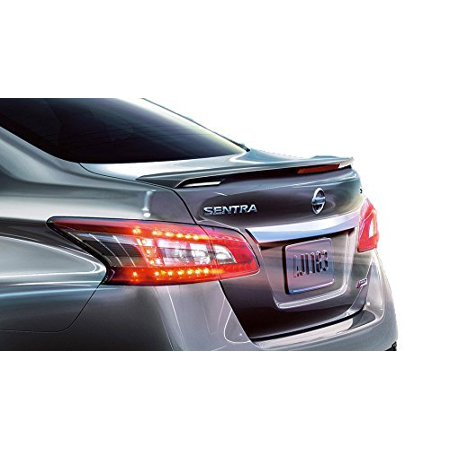 JSP Rear Wing Spoiler Compatible with 2013-2016 Nissan Sentra OE Style Primed with LED - Jsp Oem Spoilers