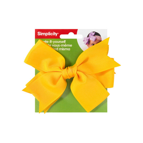 Simplicity Large Gg Bow Ylw 1pc