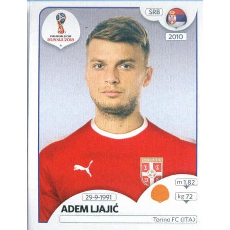2018 Panini World Cup Stickers Russia #426 Adem Ljajic Serbia Soccer (Serbia World Cup)