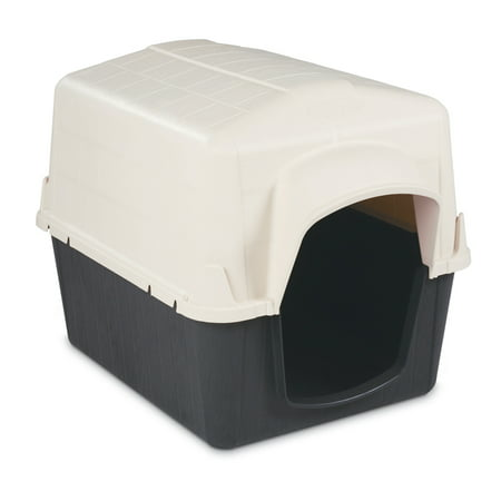 "Petmate Barnhouse Dog House, Small, 21""x22""x29"", White"