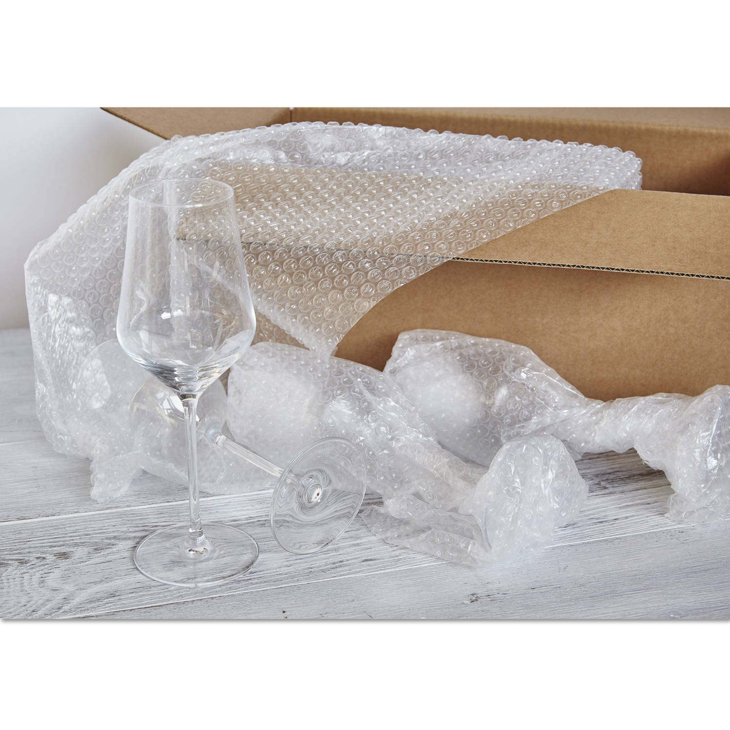 "American Bubble Boy Bubble Wrap Official Sealed Air Bubble Wrap - 350 Feet X 3/16"" X 12"" - Perforated Every 12"" - American Bubble Boy"