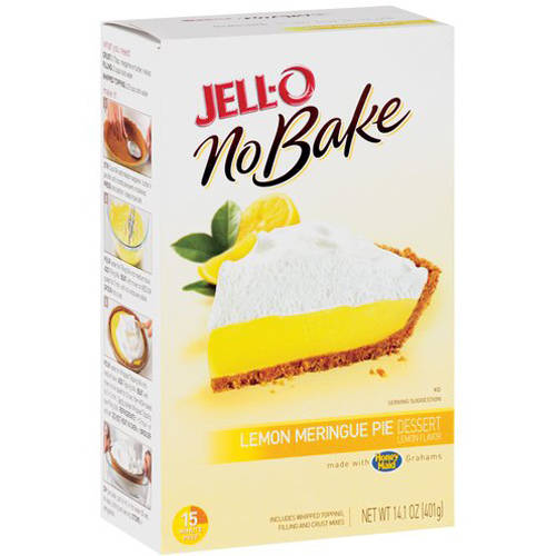 Jell-O No Bake Lemon Meringue Pie Dessert Mix, 14.1 oz