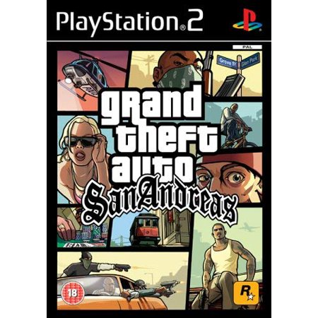 Grand Theft Auto: San Andreas (PS2) (Refurbished)