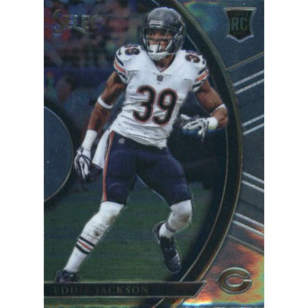 2017 Panini Select #4 Eddie Jackson Chicago Bears Rookie Football - Halloween Chicago Events 2017