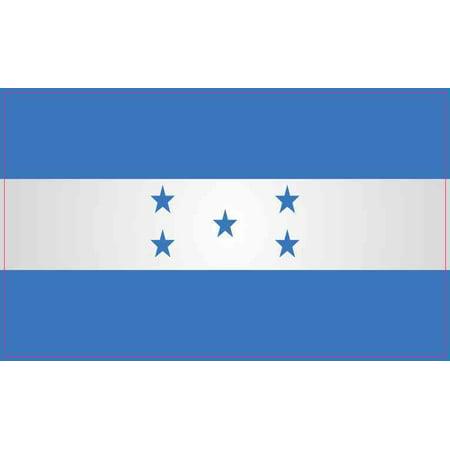 5in x 3in Honduras Flag Sticker Vinyl Vehicle Bumper Flags Decal Stickers