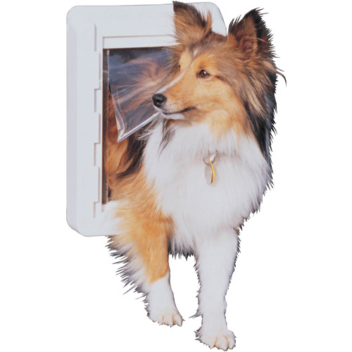 Ideal Ruff Weather Pet Door White, Small