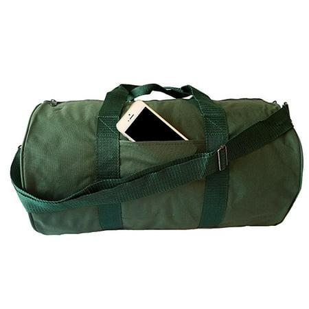 ImpecGear Round Duffel Sports Bags, Travel Gym Fitness Bag. (Green) - Green Sport Bag