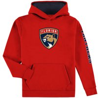 Florida Panthers Fanatics Branded Youth Pullover Hoodie - Red/Navy