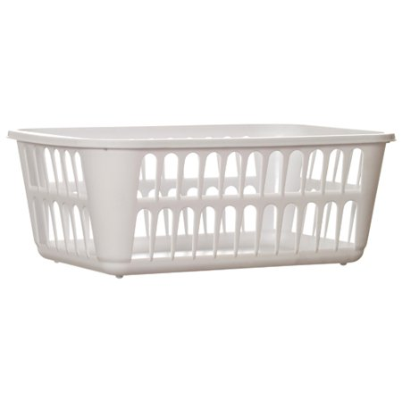 New 342591  Sterilite #1608 Storage Basket Wht (48-Pack) Laundry Accessories Cheap Wholesale Discount Bulk Household Laundry Accessories - Baskets Wholesale