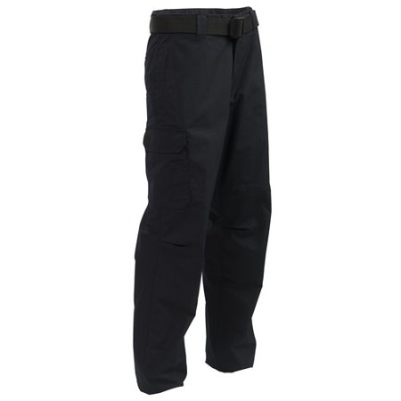 Elbeco Men's Adu Ripstop Uniform Cargo Pants, Navy