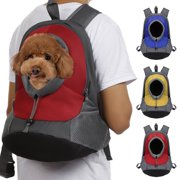 Pet Dog Cat Portable Travel Carrier Head Out Backpack For Bike Hiking Outdoor
