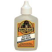 Gorilla Glue 5201205 Waterproof Glue 2oz Dries White 2X Faster 10pk
