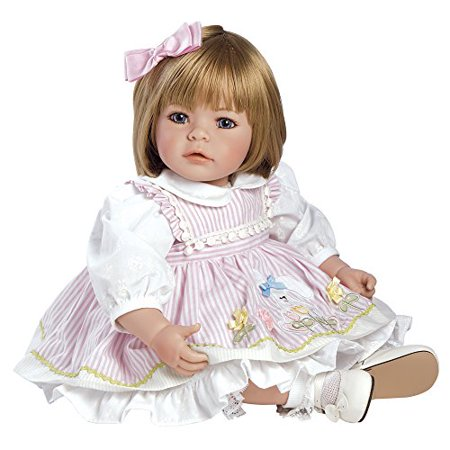 Adora Dolls Pin A Four Seasons Baby Doll Sandy Blonde Hair   Blue Eyes