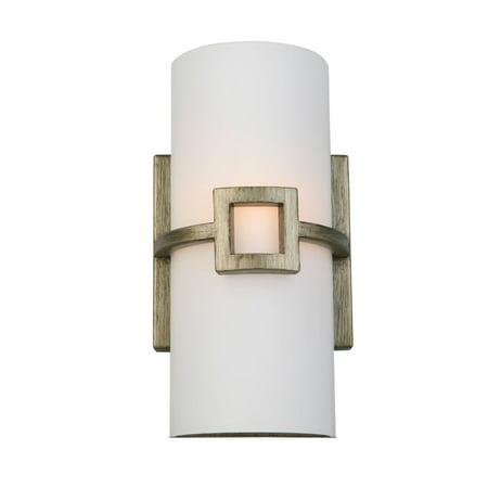 Design House 579615 Design House 579615 Monroe 1-Light Wall Sconce, Textured Silver