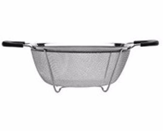 "Click here to buy Berghoff Geminis Round Mesh Strainer 8.75"" by BergHOFF International."