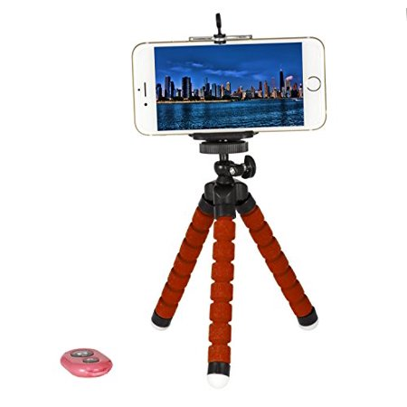 Tripod Selfie Stick 3-in-1 Cell Phone Photo Kit w/Bluetooth Remote Shutter  Control, Tripod Stand, Phone Holder Mount Bendable Leg 360 Rotation