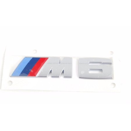 Custom Bmw 6 Series (BMW F12 F13 6 SERIES 2011 - 2017 M6 EMBLEM REAR TRUNK BADGE NEW GENUINE OEM )
