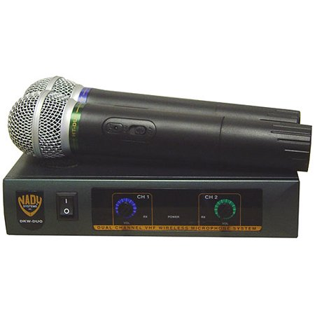 Nady Dkw Duo Vhf Handheld Wireless Microphone System   Channels B And D