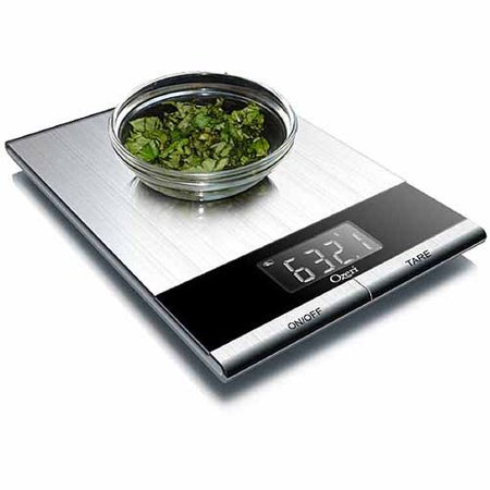 Ozeri Ultra Thin Professional Digital Kitchen Food and Nutrition Scale ()