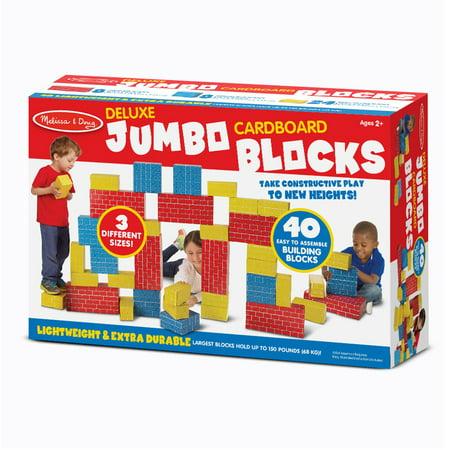 Cardboard Blocks 40Pc - Melissa And Doug Cardboard Blocks