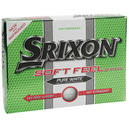 Srixon Soft Feel Golf Balls Pure White