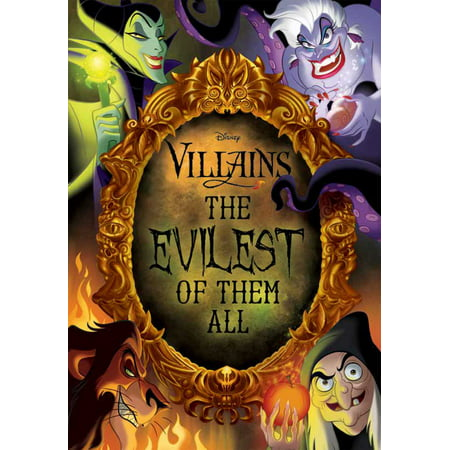 Disney Villains: The Evilest of Them All (Hardcover) - Disney Female Villians