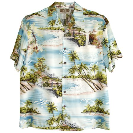 Paradise Island Surf Made in Hawaii Mens Hawaiian