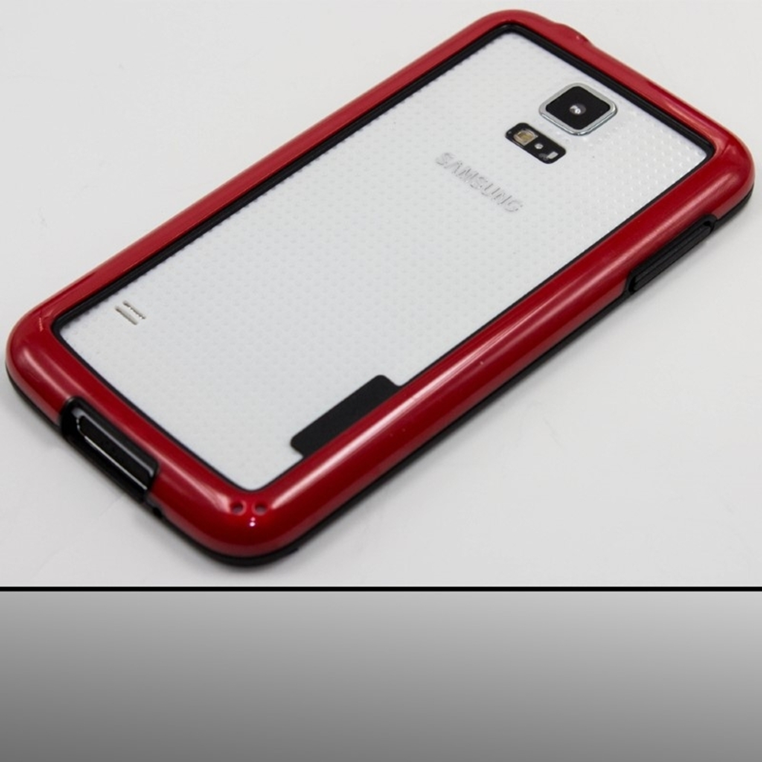 Insten Red Various Colors PC Hybrid Hard Shockproof Bumper Frame Premium Case Cover For Samsung Galaxy S5 SV