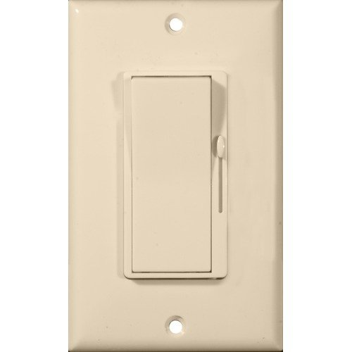 Morris Products 82788 Slide Dimmer And On - Off Switch Almond 3-Way 120V 700W