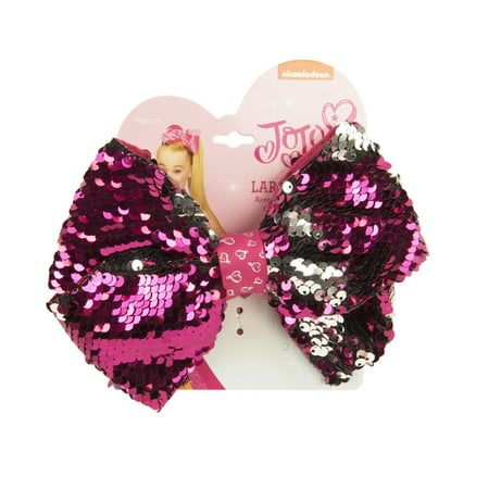 JoJo Siwa Bow on Elastic, - Ponytail Bow