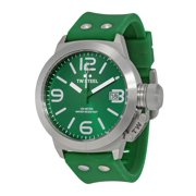 Canteen Green Dial Green Silicone Mens Watch TW505
