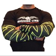 Missing Link SPF 50 HiViz Tribal Tattoo ArmPro Compression Sleeves - APHT