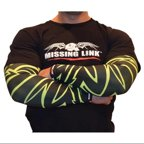 Missing Link SPF 50 HiViz Tribal Tattoo ArmPro Compression Sleeves - APHT