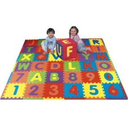 Edushape 706132 Edu Tile Numbers And Letters - 36 Piece - Number 36