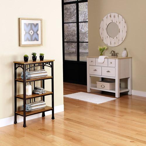 Modern Craftsman 4-Tier Shelf
