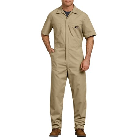 967f5cd94a1a Dickies - Men s Short Sleeve Deluxe Poplin Coverall - Walmart.com