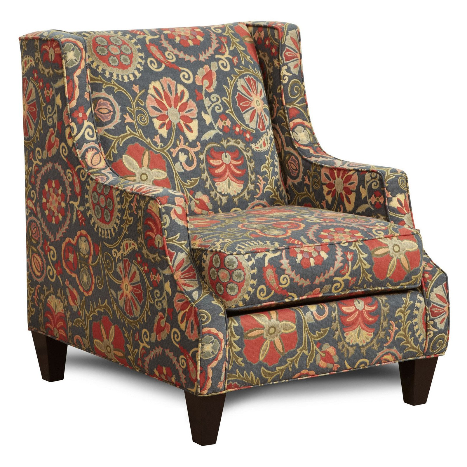 Chelsea Home Furniture Delling Dutch Garden Wingback Chair