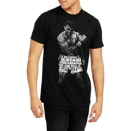 Mens Muhammad Ali Collage Short Sleeve Graphic Tee
