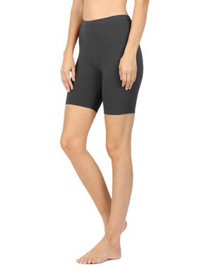 47b4ee2701fa3 Product Image Womens Active Running Cotton Biker Shorts