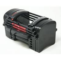 PowerBlock Adjustable Dumbbells, 24-50 lbs (Elite, Sport, EXP Stage 1, 50)