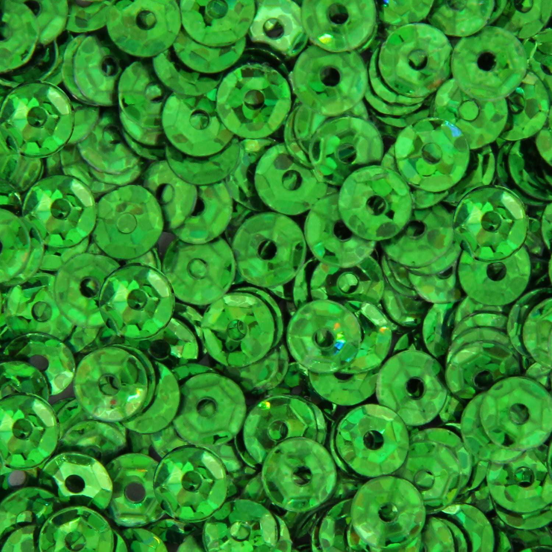 720 psc//pk Lavender Loose Cup Hologram Sequins 5 Gross 4mm