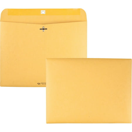 Quality Park, QUA38090, Redi-file Clasp Envelopes, 100 / Box, Kraft Quality Park Redi File Clasp