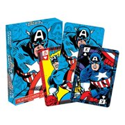 Captain America 42513 Captain America Superhero Playing Cards