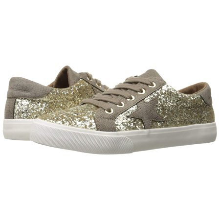 Gold Sneakers Shoes - Not Rated Womens Illana Glitter Fashion Sneaker (Gold, 8)